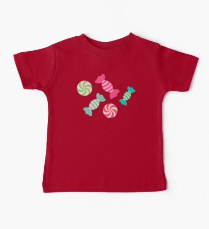 Cute Candy Stripes Baby Tee