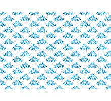 Diamond Clouds in the Sky Pattern Photographic Print