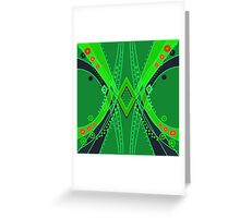 Seamless bright pattern background abstract texture Greeting Card