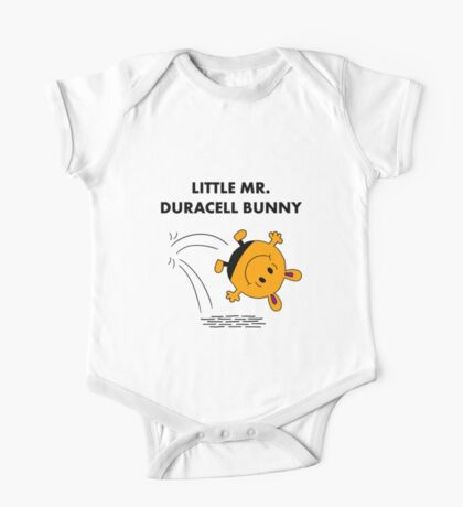 Mr Duracell Bunny One Piece - Short Sleeve