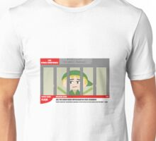 Link jailed for pottery damage (TV newsflash) Unisex T-Shirt