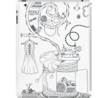 Sewing studio - Magical home iPad Case/Skin