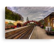 Goathand Station Platform Canvas Print