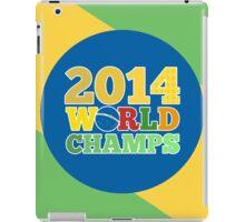 2014 World Champs - Bra iPad Case/Skin
