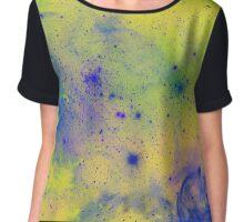 Colorful Splatter pattern Chiffon Top