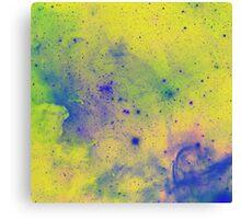 Colorful Splatter pattern Canvas Print