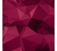 Purple Gradient Polygon by NeoIno