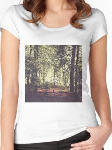 Shadow and Light Women's Fitted Scoop T-Shirt