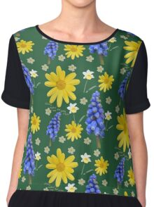 Now that spring is here Chiffon Top