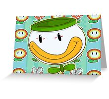 Koopa clown car Greeting Card