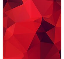 Red Polygon by NeoIno