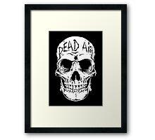 Human Skull 1 - Goth -Gothic Framed Print