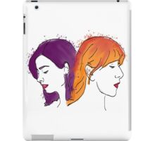 Two of a kind: Oswald &Noble iPad Case/Skin