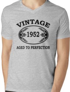vintage 1952 aged to perfection Mens V-Neck T-Shirt