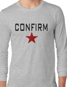 CONFIRM Long Sleeve T-Shirt