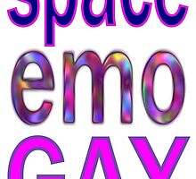 Space Emo Gay by scholara