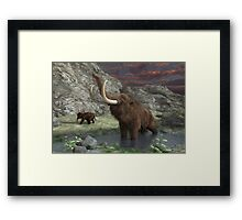 Woolly Mammoth 2 Framed Print