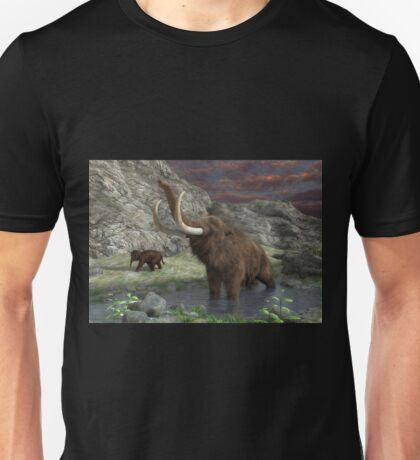Woolly Mammoth 2 Unisex T-Shirt