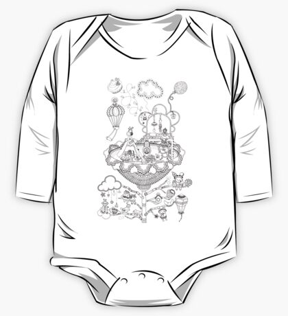 Kids room - Life in flowers One Piece - Long Sleeve