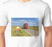 London Transport Routemaster Bus, RM1978, Salisbury Plain, UK Unisex T-Shirt