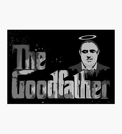 The Good father for father days Gift Photographic Print