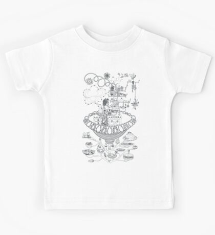 Kitchen - Life in flowers Kids Tee