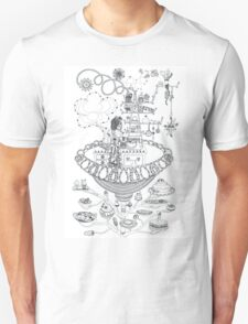 Kitchen - Life in flowers Unisex T-Shirt