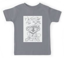Living room - Life in flowers Kids Tee