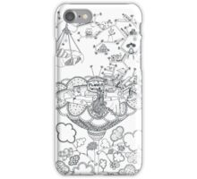 Living room - Life in flowers iPhone Case/Skin