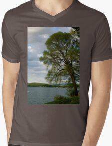 Cool Night Mens V-Neck T-Shirt