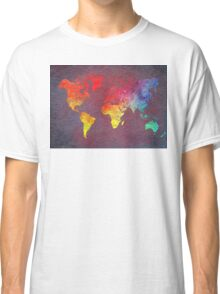 world map Classic T-Shirt