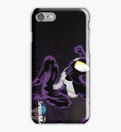 Ultimate Spider-Man: The  Black Suit iPhone Case/Skin