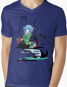 Touhou - Wakasagihime Mens V-Neck T-Shirt