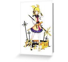 Touhou - Toyosatomimi no Miko Greeting Card