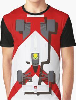 AYRTON SENNA MCLAREN MP4/4 1988 (1) Graphic T-Shirt