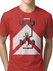 AYRTON SENNA MCLAREN MP4/4 1988 (1) Tri-blend T-Shirt