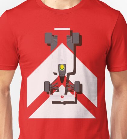 AYRTON SENNA MCLAREN MP4/4 1988 (1) Unisex T-Shirt