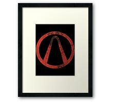 Borderlands - Symbol Framed Print