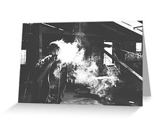 Smoke Greeting Card