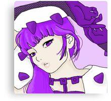 purple guardian Canvas Print