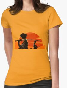 Samurai Champloo Womens Fitted T-Shirt