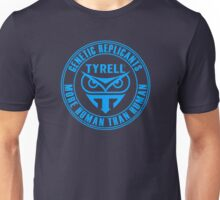 TYRELL CORPORATION - BLADE RUNNER (BLUE) Unisex T-Shirt