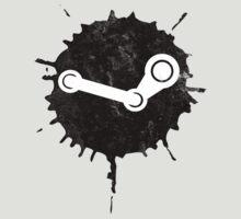 Steam Splatter Logo by nullsound