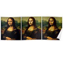 Contouring: Mona Lisa Poster
