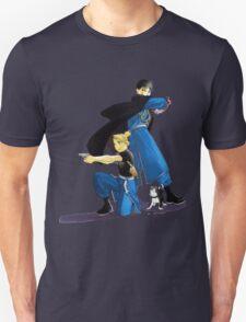 Fullmetal Alchemist - Riza Hawkeye & Roy Mustang T-Shirt