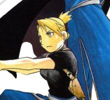 Fullmetal Alchemist - Riza Hawkeye & Roy Mustang Sticker