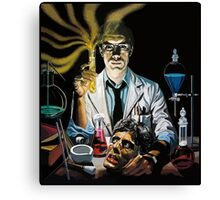 Re-Animator science fiction cover Canvas Print
