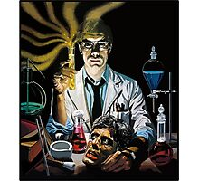 Re-Animator science fiction cover Photographic Print