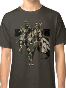 Metal Gear Solid - Solid & Liquid Snake Classic T-Shirt
