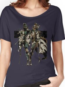 Metal Gear Solid - Solid & Liquid Snake Women's Relaxed Fit T-Shirt